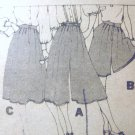 Butterick  Misses' Shorts Capri Pants Gaucho  Pattern  Size 18 uncut no 4744