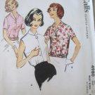 Vintage 50's Mccall's 4980 Misses' Blouse Sewing Pattern sz 14 uncut