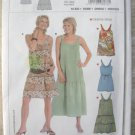 Burda 8076 Summer Dress Sewing Pattern sizes 6 - 18 Uncut