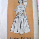 Vintage 50's Marian Martin 9154 Uncut Playsuit & Front Buttoned Skirt Pattern 14