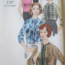 Vintage Vogue 5150 Jacket and Blouse Sewing Pattern uncut size 14