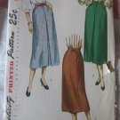Vintage 40's Slim Skirt Sewing Pattern Simplicity 2383 waist 26