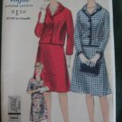 Vintage Suit  Sewing Pattern Vogue no. 4297 Size 16 uncut