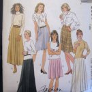 McCall's  Misses' Skirt in 2 Lengths Sewing Pattern no.9699 Size 8, 10, 12  Uncut