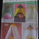 Simplicity 5126 Sewing Pattern Teen Canopies for Bed - Uncut