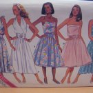 Misses' Flared Skirt Dress Sewing Pattern Size 12 14 16 Butterick 5662