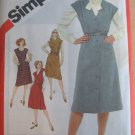 Simplicity Set of Half Size Jumpers Sewing Pattern  Sz  20 1/2 - 24 1/2  No 5206  uncut