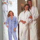 Butterick 4483 Unisex robe and Pajamas Sewing Pattern Uncut size 32 - 40