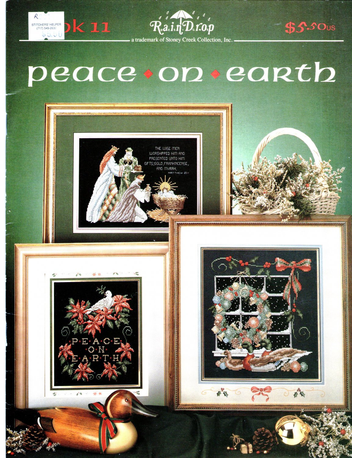 Peace on Earth Christmas Cross Stitch Patterns