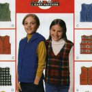 Boys and Girls Vest  Sewing Pattern McCalls 2406 Size 10 - 12  Uncut  - 8 Looks 1 Pattern
