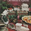 Cotton Thread Holiday Express Crochet Patterns Christmas Train using Bedspread weight Thread
