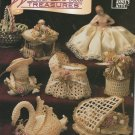 Annie's Attic Crochet Thread  Winter Treasures  Crochet Patterns Piano,  Bells,  Swan,  Wishing Well