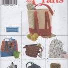 Pajama, Utility, Wine Bags, Cell Phone Holder, Bottle Holder, Tote Sewing Pattern,  Simplicity 9658