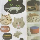 Cat Bed and Accessories  Sewing Pattern,  Mat, Catnip Toys, Simplicity 4765  Uncut