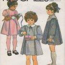 Toddler Pullover Dress Sewing Pattern Size 2 McCalls 8088 Uncut Size 13 -24 Pounds Uncut