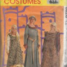 Adult  Medieval Costume Dress  Sewing Pattern Size 12 14 16 McCalls 8826  Uncut