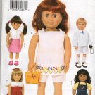 "18""  Doll  Clothes  Sewing Pattern, Dress, Tunic, Shorts, Jacket, Jumper, Shirt  Butterick 3491"