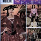 Adult Pirate Costume Sewing Pattern Simplicity 0509 Sizes 14 16 18 20 22 Uncut