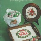 Christmas Stitchin' For the Holidays Counted Cross Stitch Patterns
