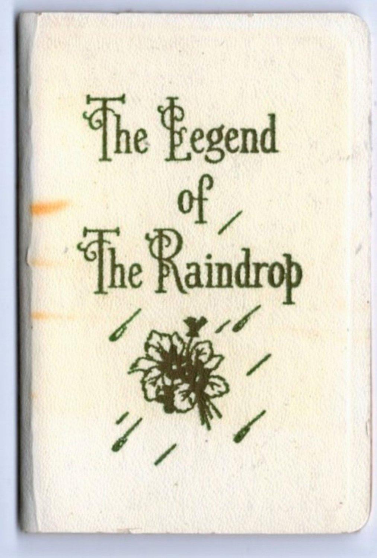 The Legend of the Raindrop Helen Steiner Rice Miniature Size Book