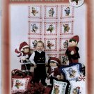 Santa's Little Helpers Elves Counted Cross Stitch Patterns