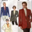 Misses  Lined Jacket Sewing Pattern,  Simplicity 9874 Size 10 12 14 16 18   Uncut