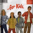 Pullon Pants and Shirt Sewing Pattern  New Look for Kids 6023 Size 4 - 9 Uncut