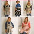 Maternity Aprons Sewing Pattern Simplicity 2390 Size 10 , 12, 14, 16, 18, 20 Uncut