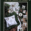 Tis The Season in Beads Counted Cross Stitch Christmas Patterns  by Mill Hills