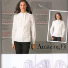 Top with Separate  different Cup Sizes Sewing Pattern, Simplicity 2339 Size 6 8 10 12, 14 Uncut