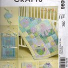Fish and Octopus Quilt, Organizer, Bag, Pacifier Clip and Mobile McCalls 6096 Uncut