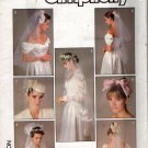 Bridal Veils and Headpieces Sewing Pattern   implicity 8509