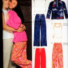 Unisex Pants, Top &Jacket Sewing Pattern For Knit Fabrics New Look 3439, Size Xs - XL - Uncut
