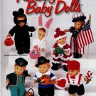 "Crochet Holiday Baby Dolls Costumes For 9 1/2"" Dolls 7 Designs"