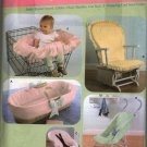 Baby Accessories Soft Covers  Sewing Pattern Simplicity 4636 Uncut