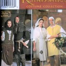 Adult Misses, Mens Teens Renaissance Costume  Sewing Pattern  Simplicity 8587 Uncut