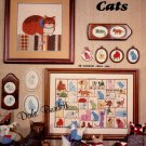 Country Cats Counted  Cross Stitch Pattern