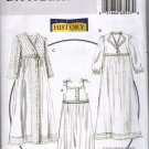 Misses Making History Nightgown, Robe & Slipper Sewing Pattern Butterick 5544 Uncut 4 6 8 10 12 14