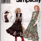 Misses Blouse, Vest, Tiered Square Dancing Skirt Sewing Pattern  Simplicity 9179 Size 18 20 22 Uncut