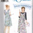 Daisy Kingdom Cross Over Smock Apron Sewing Pattern Simplicity 5201 like 7481