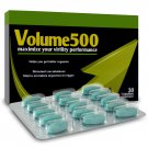 Volume 500 is Most known and used, 100% natural, Sperm Enhancer on the Market