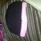 Teen - Young Adult Beanie (Black/Pink)