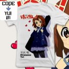 ANIME MANGA T-SHIRT TEES HIRASAWA YUI K-ON! S M L XL 2XL