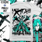 ANIME MANGA T-SHIRT TEES HATSUNE MIKU VOCALOID LOVE IS WAR S M L XL 2XL
