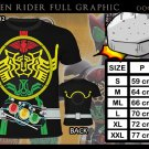 KAMEN RIDER TATOBA ANIME MANGA FULL GRAPHIC T SHIRT S M KL XL 2XL 3XL