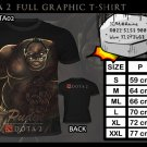 FULL GRAPHIC T SHIRT GAME TEES DOTA 2 T-SHIRT THE PUDGE