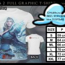 FULL GRAPHIC T SHIRT GAME TEES DOTA 2 T-SHIRT CRYSTAL MAIDEN