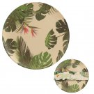 Eco Friendly Cheese Plant Plates & Cup Set Bamboo Fibre Durable Dinner   9 Piece Gift Set