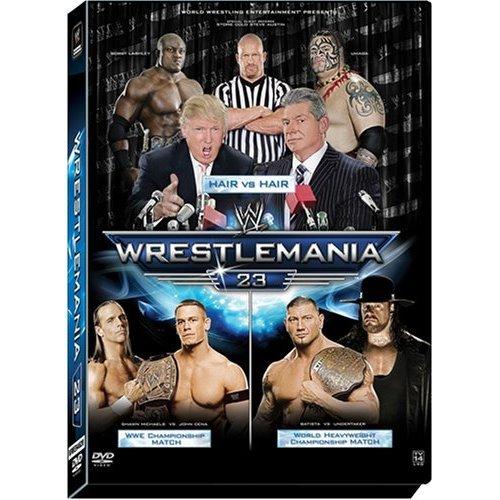 WWE - WrestleMania 23 (2007) New/Sealed 2 Disc DVD Set