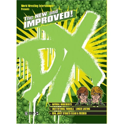 WWE - The New & Improved DX New/Sealed 3 DVD Set
